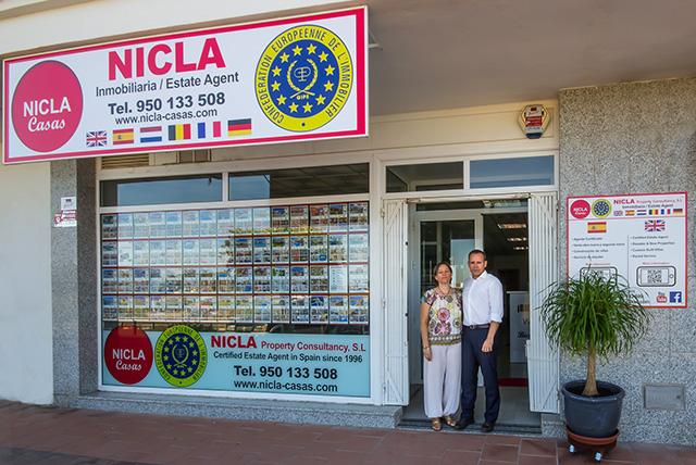 NICLA kantoor Las Buganvillas 22 Vera