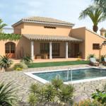 De bouw van een Spaanse Sundalus Villa