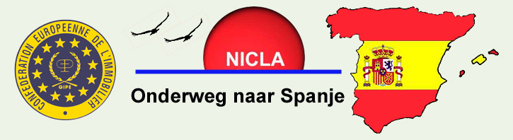 Onderweg naar Spanje